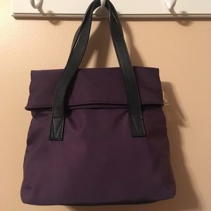 Paloma Picasso Nylon And Leather Trim Bag NWOT!